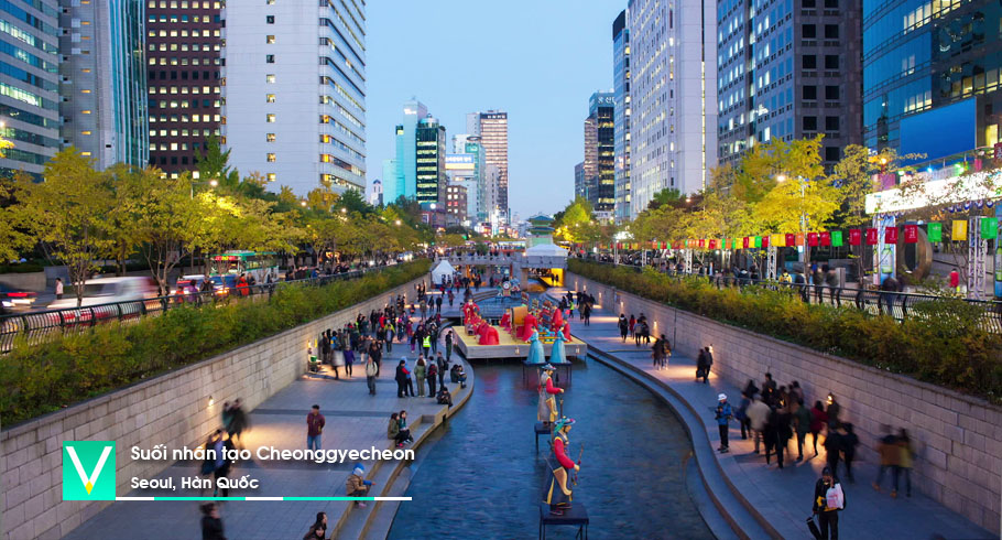Cheonggyecheon Stream 2