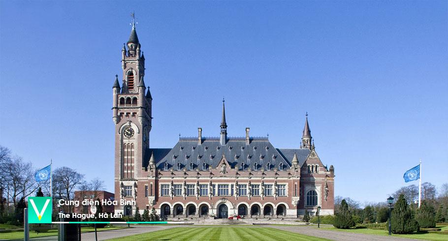 Peace Palace -Cung dien Hoa Binh (The Hague)