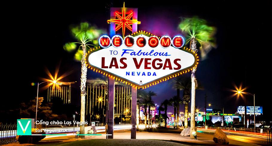 USA – Cong chao Las Vegas