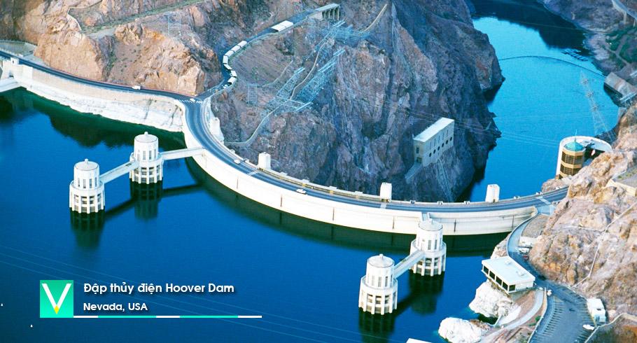 USA – Dap thu dien Hoover Dam