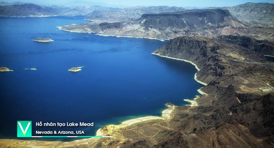 USA – Ho nhan tao Lake Mead